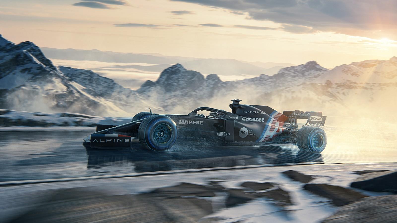 F1: Bemutatkozott az Alpine és Alonsóék új autója
