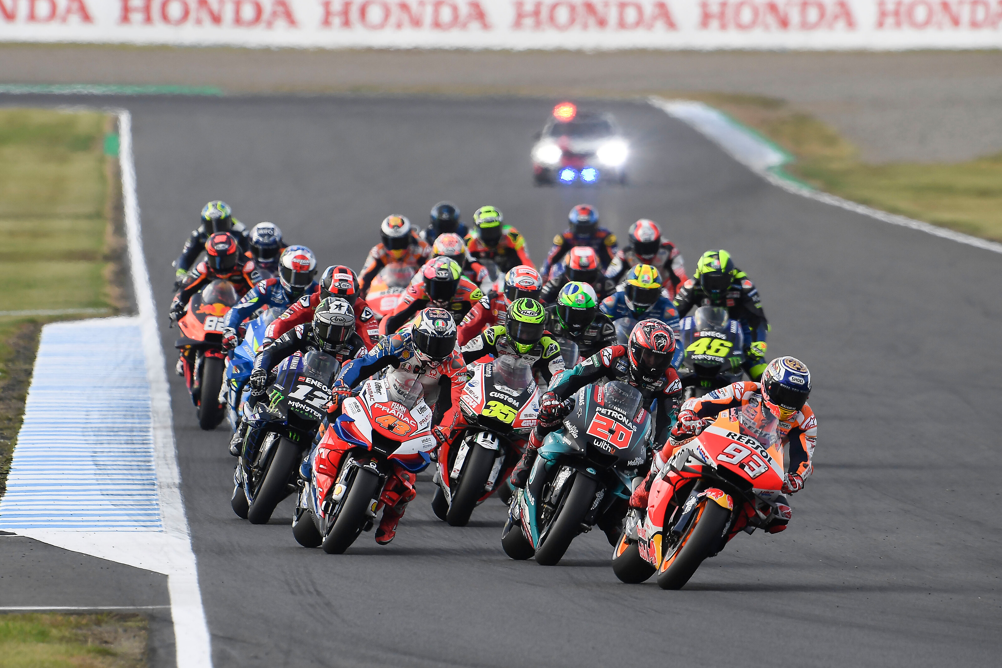 Újabb versenyt fújtak le a MotoGP-ben