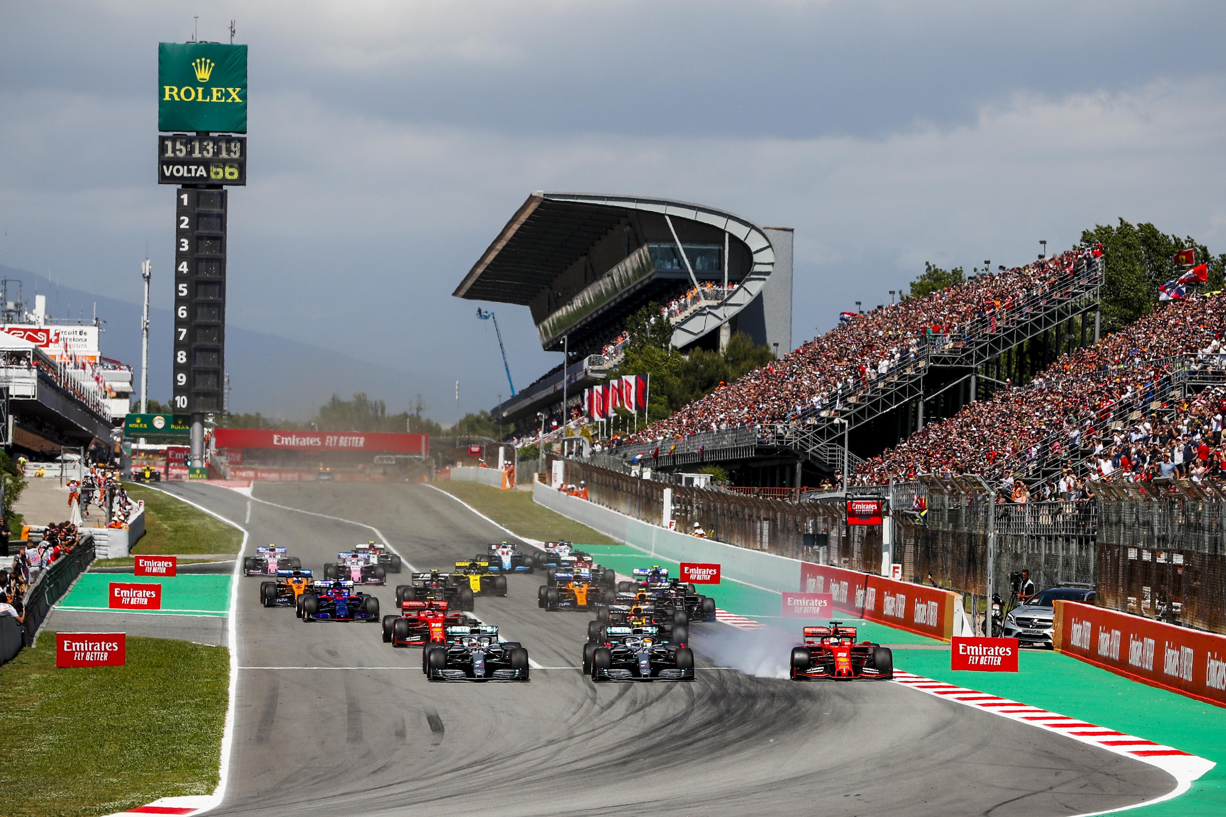 F1: Megmenekülhet a Spanyol Nagydíj