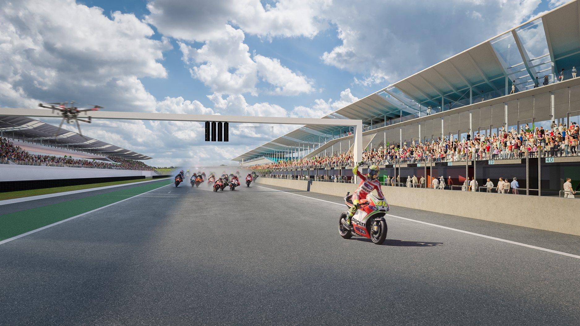 Megvan, ki nyerte a hajdúnánási MotoGP-tervpályázatot