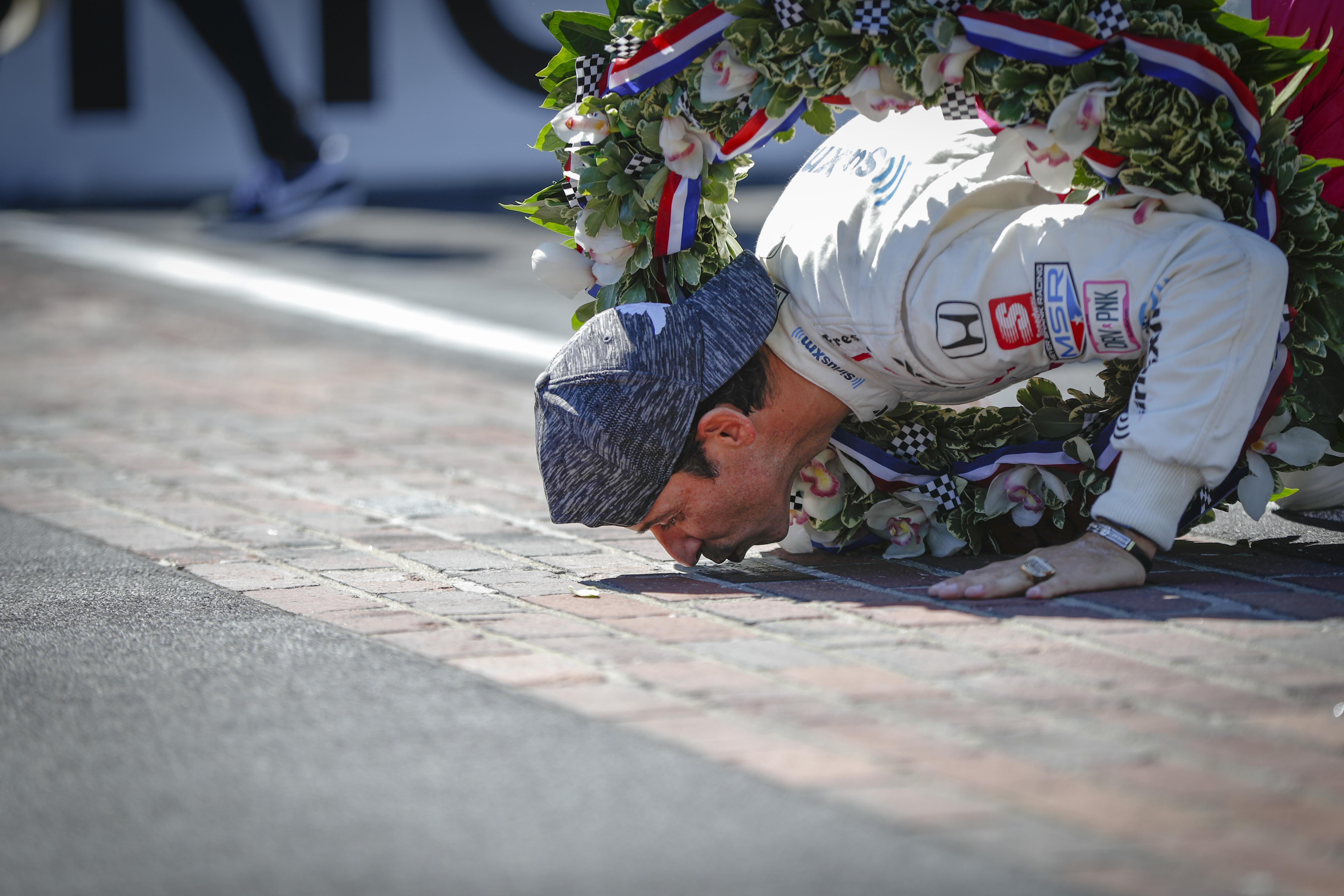 Elképesztően sokat kaszált az Indy 500 győztese