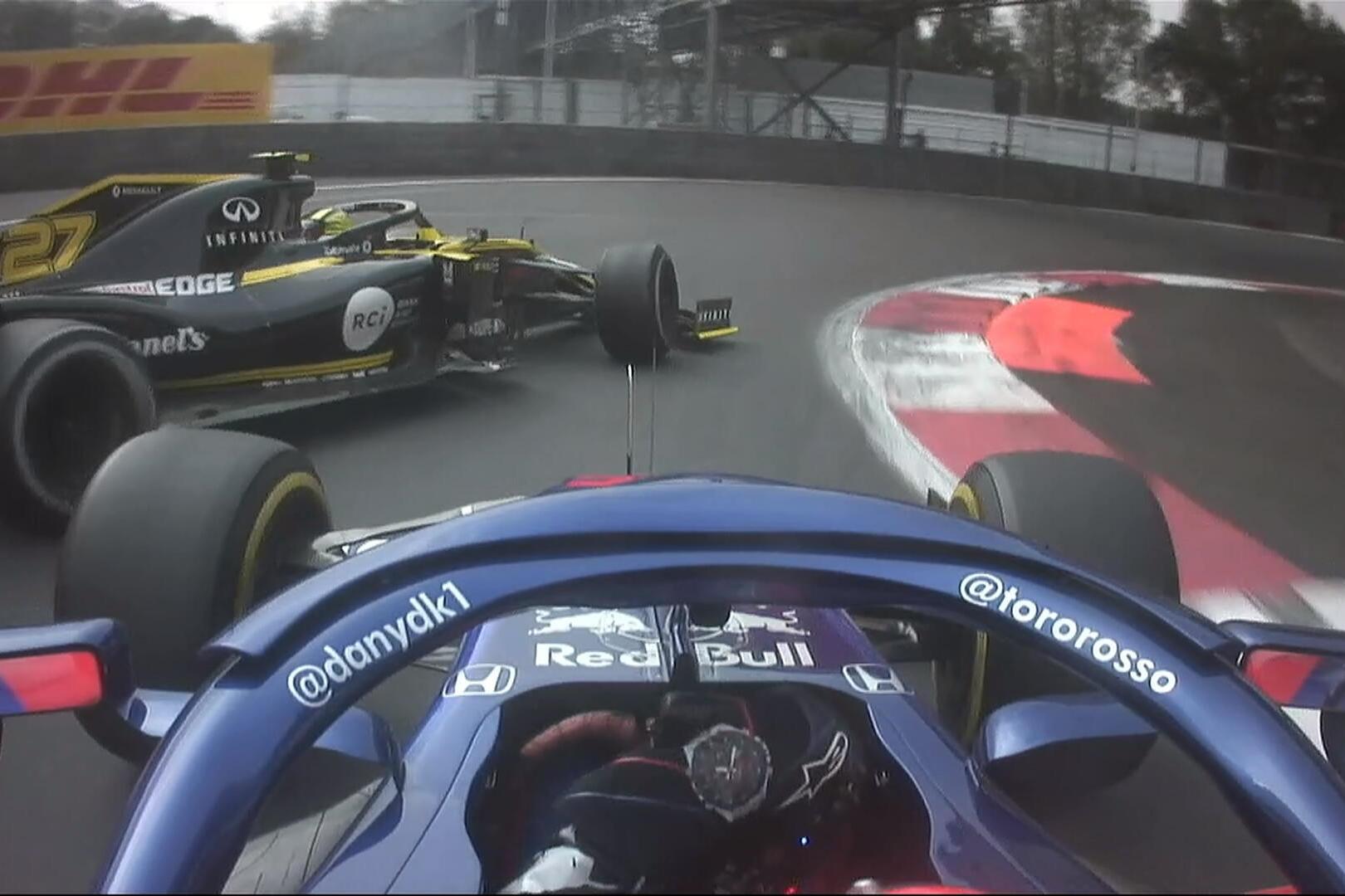 F1: Kvjat újra lecsapott, és még neki állt feljebb