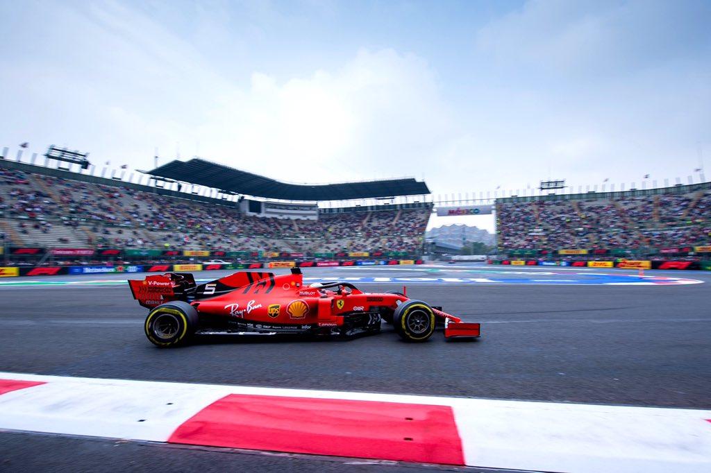 F1: Vettel tört az élre Mexikóban, Albon falba tette a Red Bullt