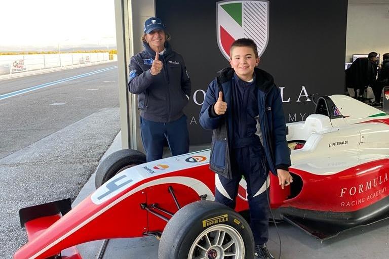 Apja nyomdokaiba lép Emerson Fittipaldi 14 éves fia