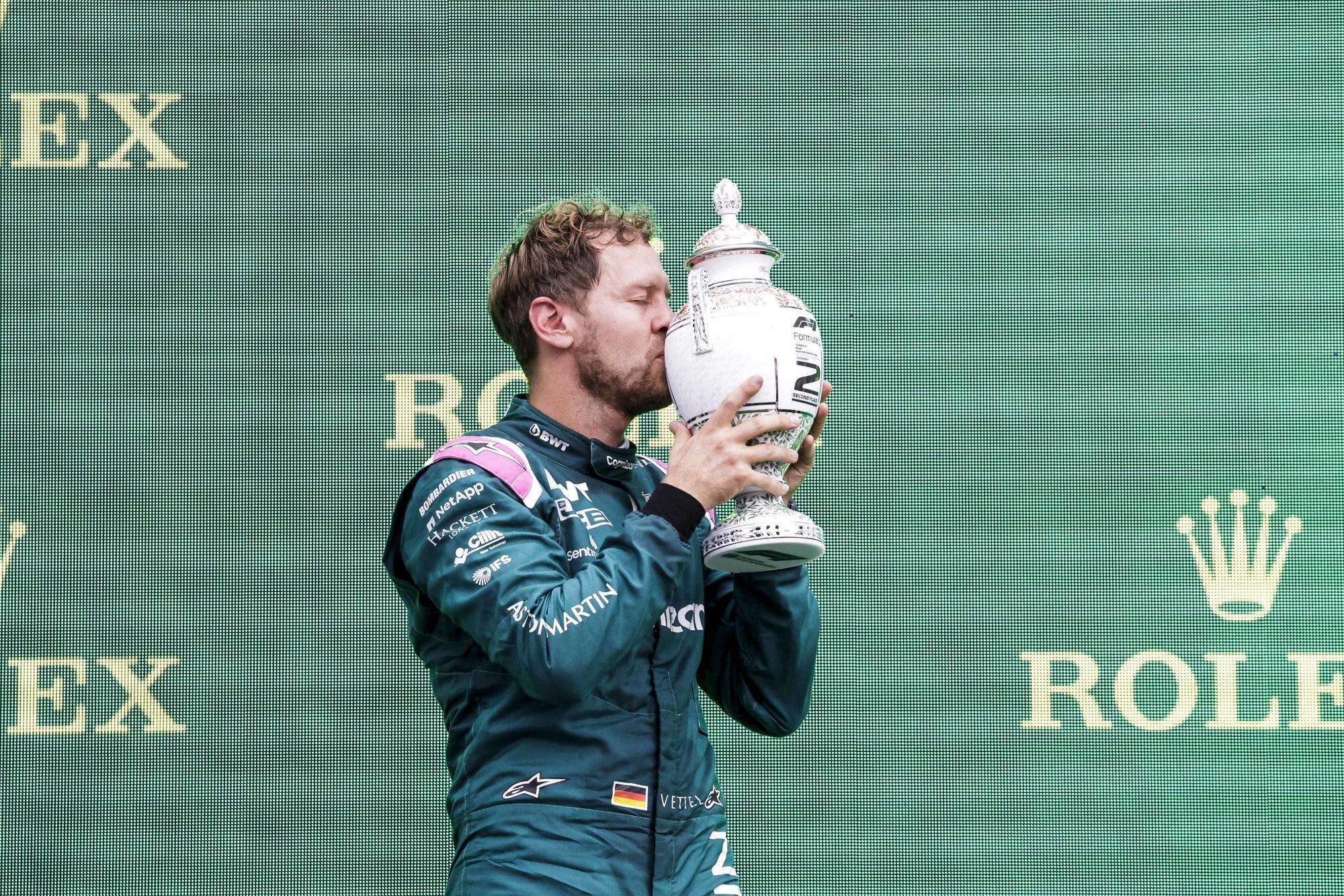 """F1: """"Eltűnt"""" Vettel hungaroringi trófeája"""