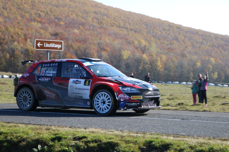 Rali-Eb: WRC-futamgyőztes húzta be a Rally Hungaryt