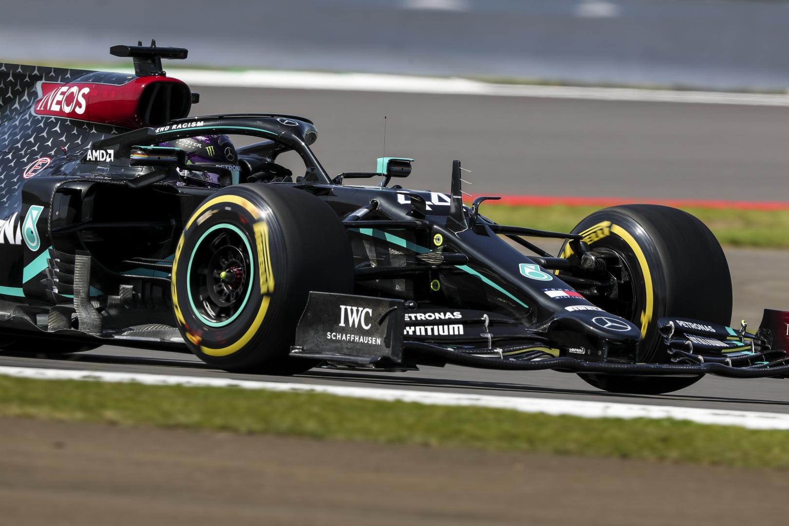 F1: Hibázott, de a pole-ig meg sem állt Hamilton