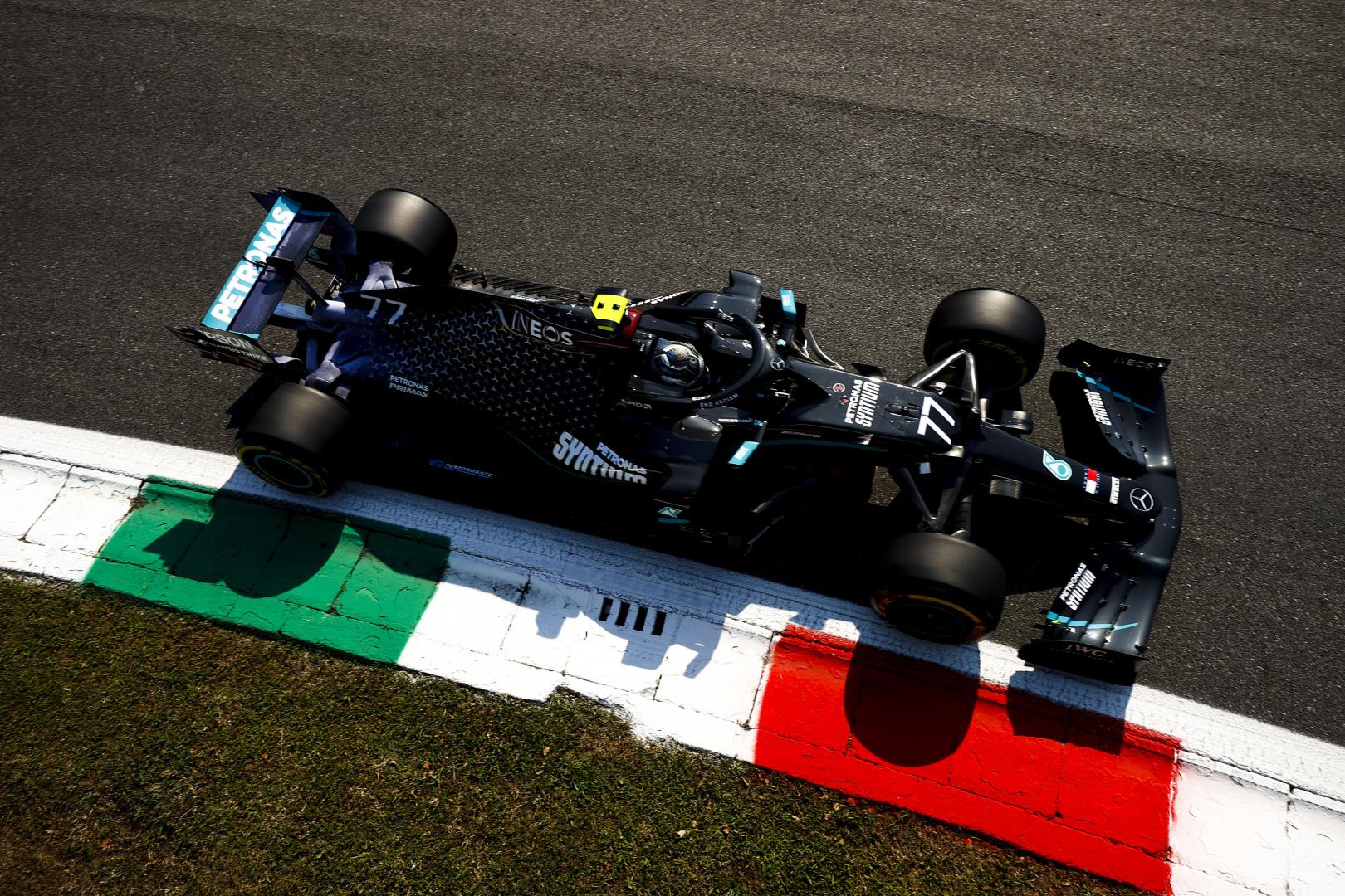 F1: Bottasé az első vér Monzában, Verstappen megtörte a Red Bullt