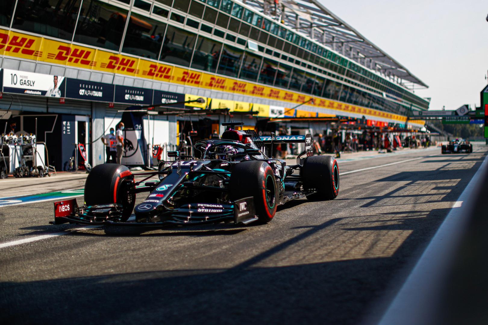 Így fest a Formula–1-es Olasz Nagydíj rajtrácsa!