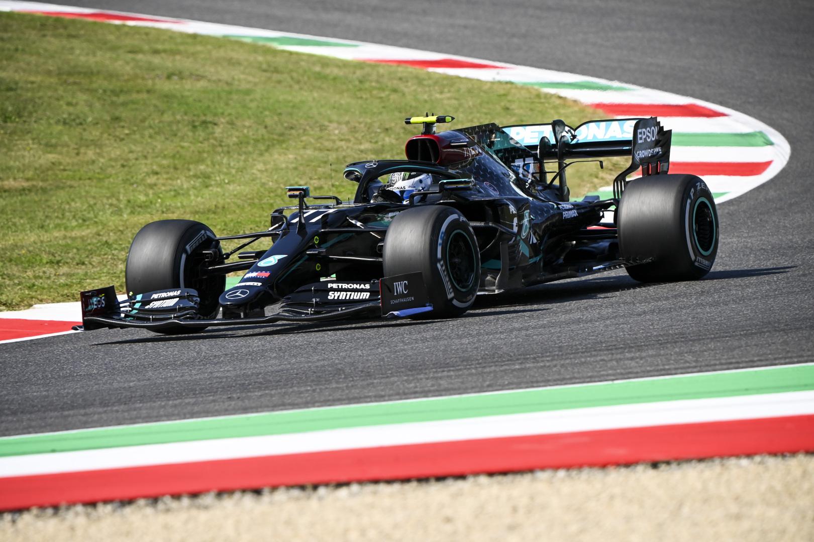 F1: Bottasé az első edzés Mugellóban, Verstappen a nyomában