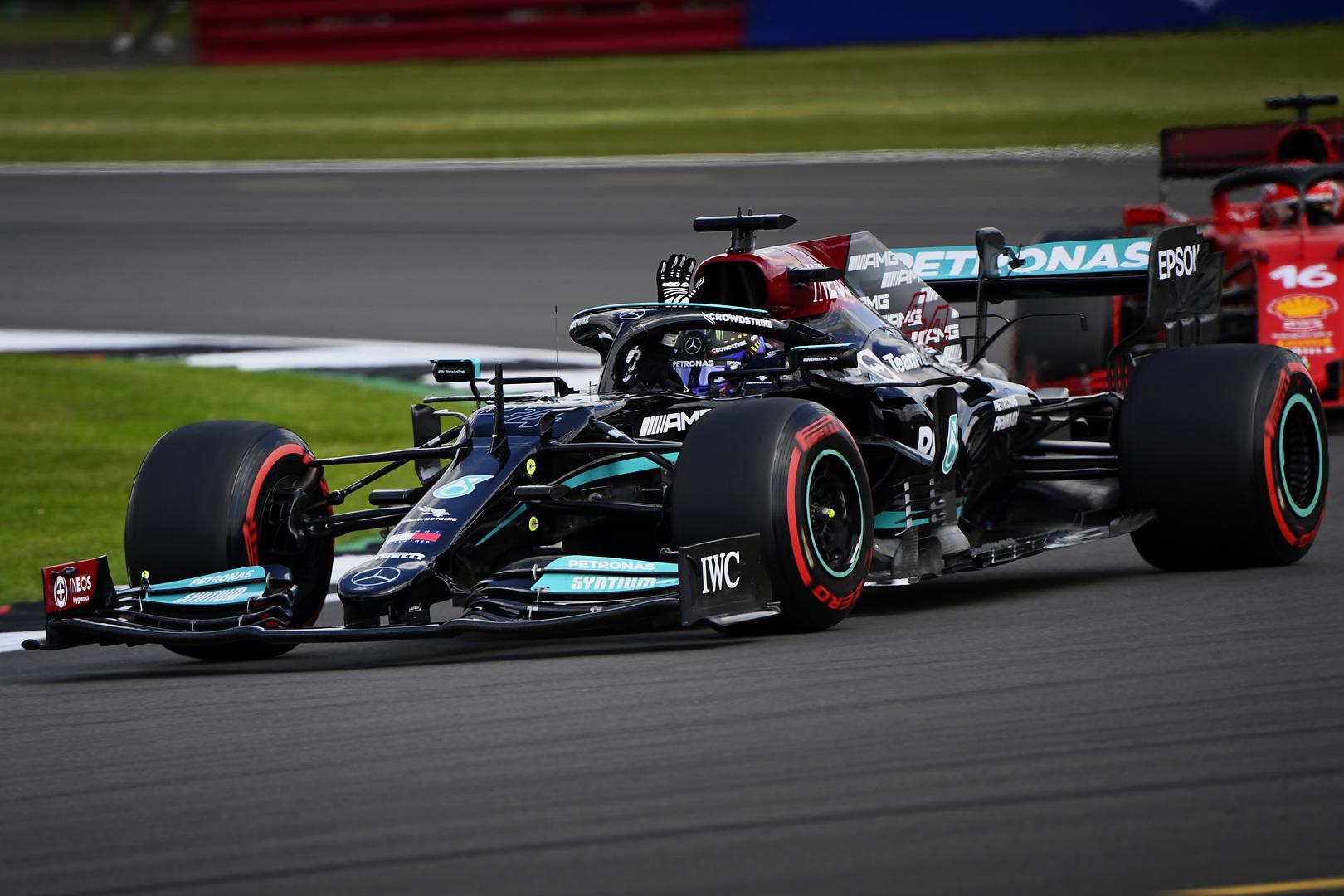F1: Hazai közönsége előtt Hamilton visszavágott Verstappennek