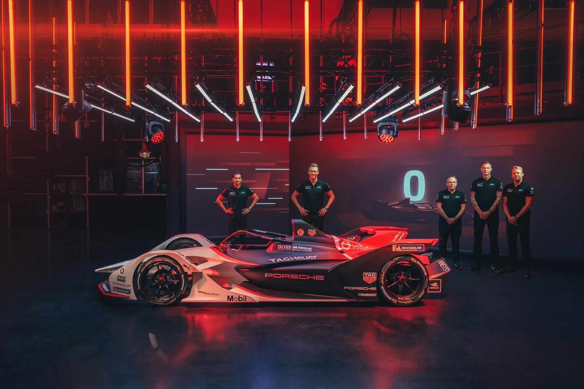 Formula-E: Bemutatta első autóját a Porsche