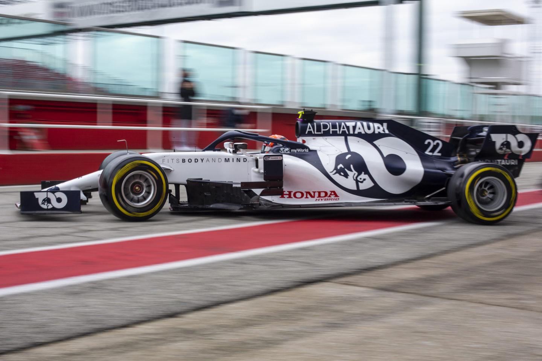 F1: Falja a kilométereket bemutatkozása előtt az Alpha Tauri újonca
