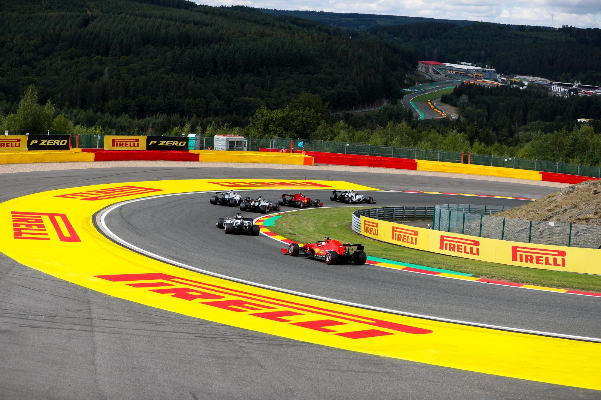 Így fest a Formula–1-es Belga Nagydíj rajtrácsa!