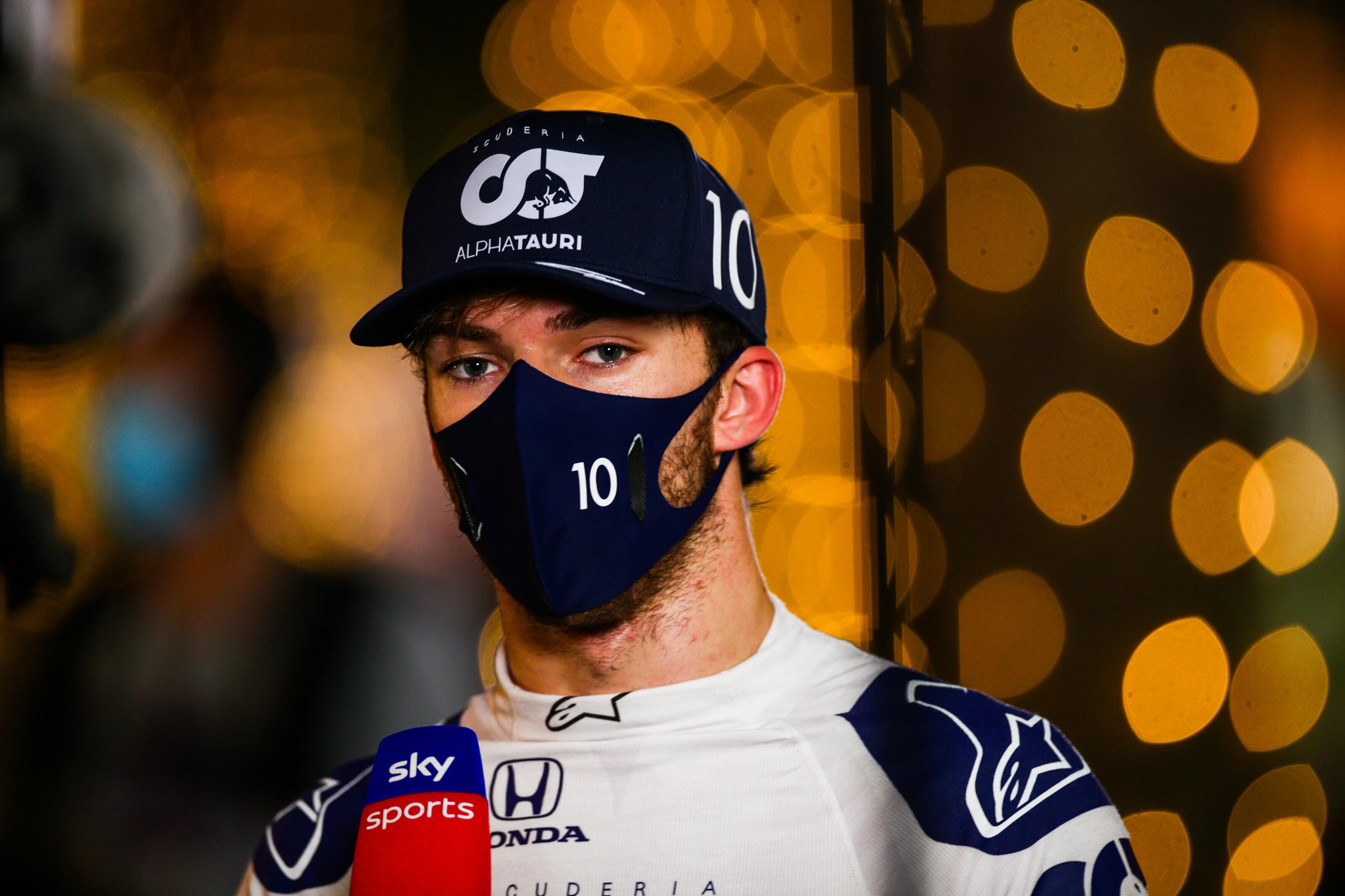 F1: Pierre Gasly is megfertőződött a koronavírussal