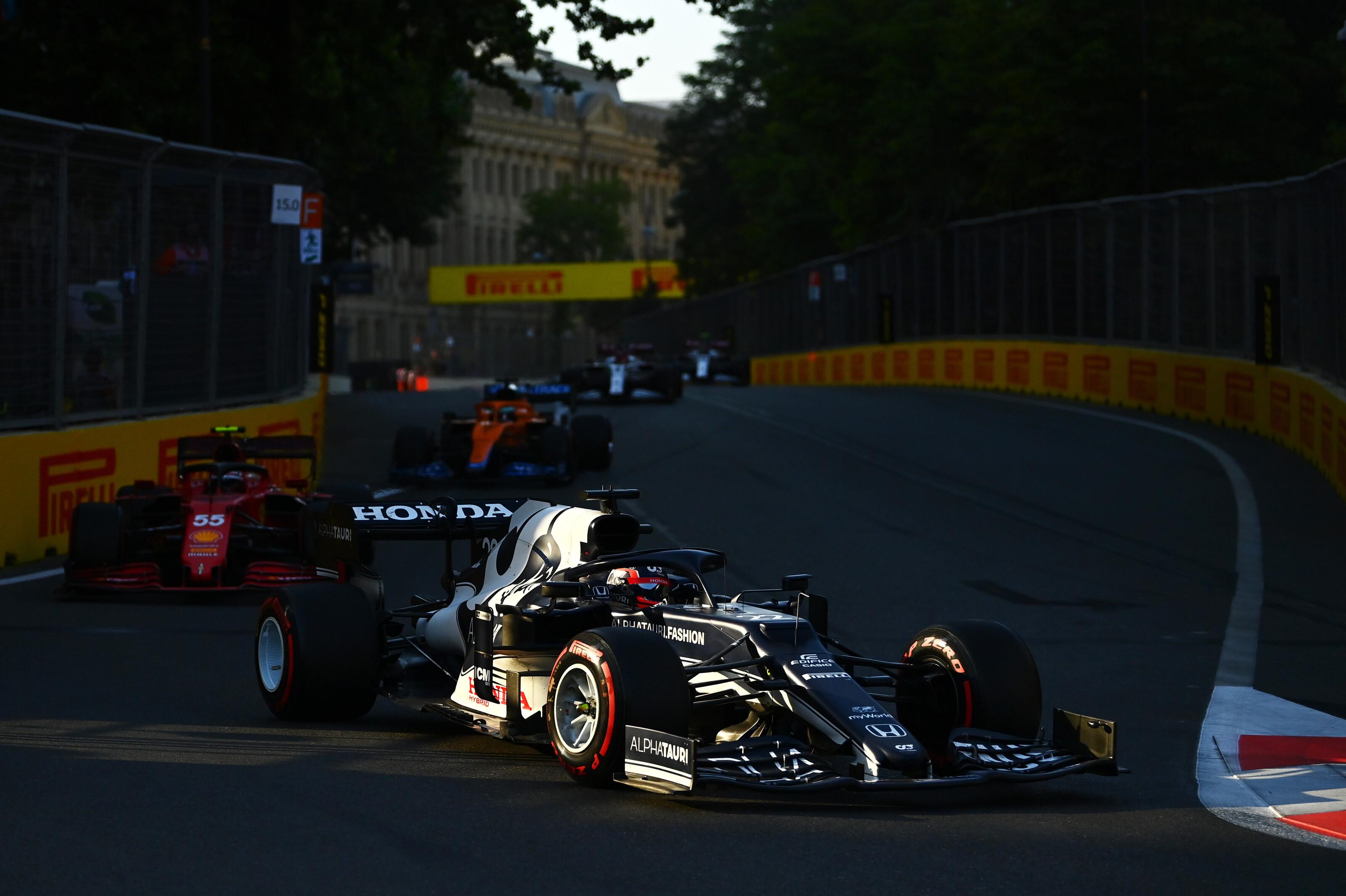 Így osztja be főnöke a hibázgató F1-es újonc idejét