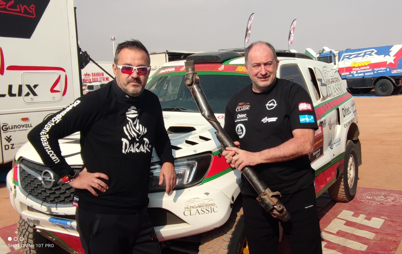 Eddig tartott Szalayéknak a Dakar-rali