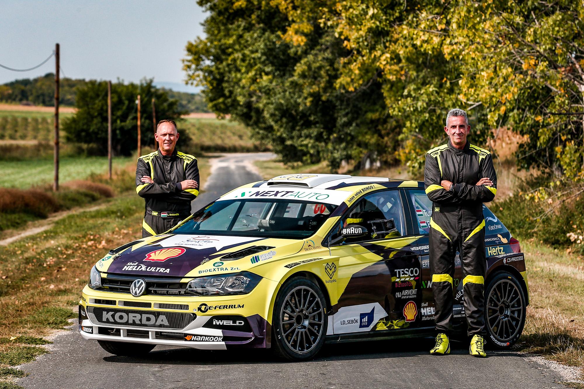 Vértes Rallye: Új név, ismerős pályák