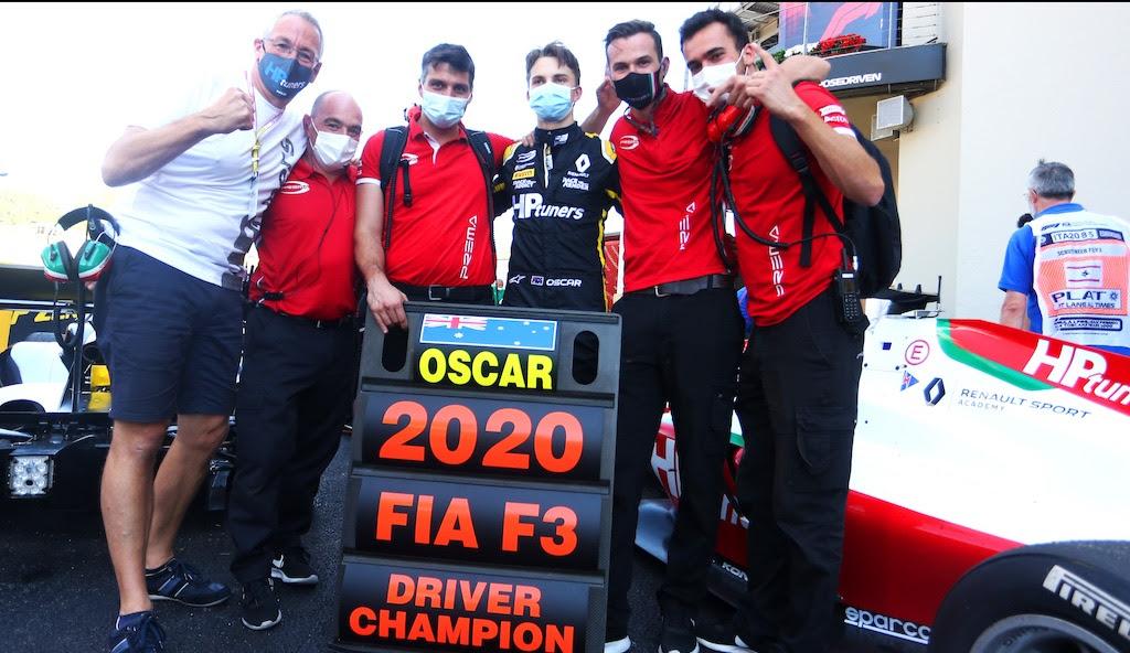 Őrült szezonzárón lett Piastri a Formula–3 bajnoka