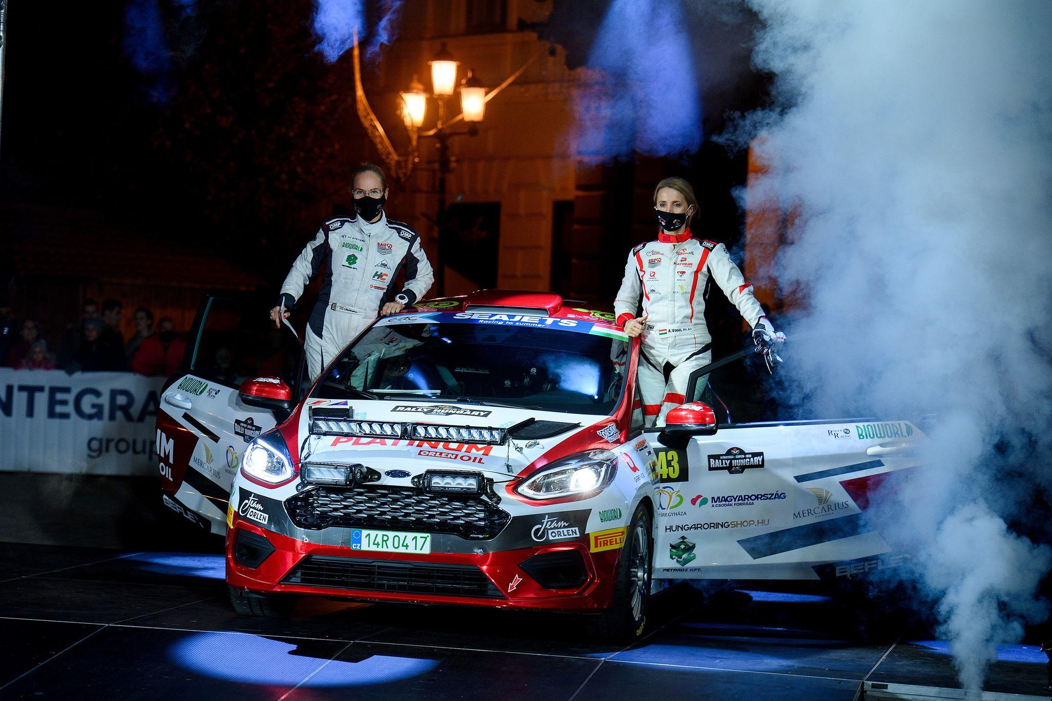 Kategóriájuk legjobb magyarjaként zárták a Rally Hungaryt Vogel Adriék