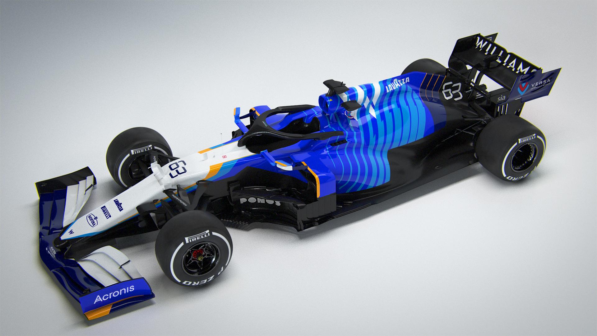 F1: Színkavalkáddal mutatták be az új Williamst