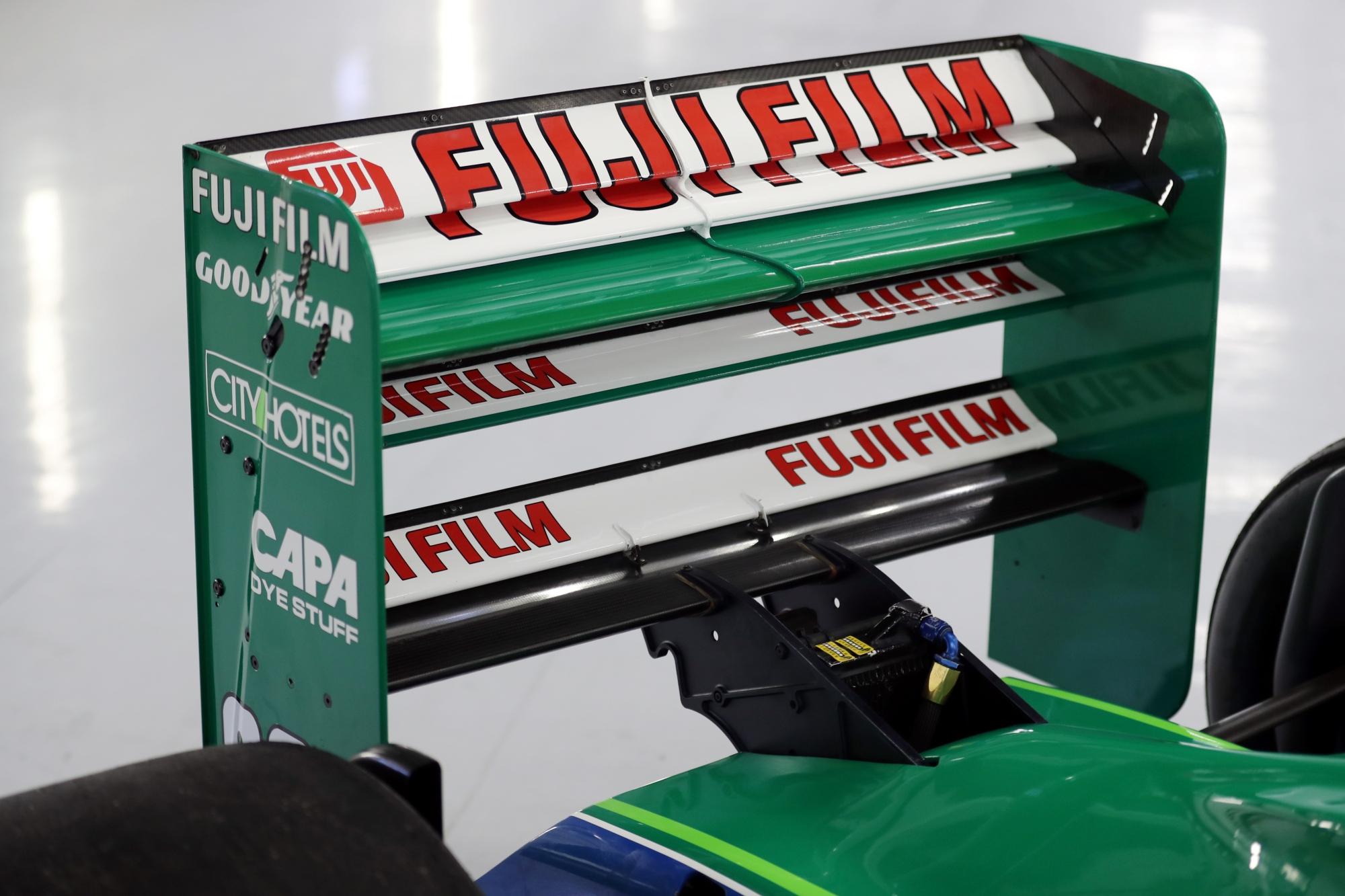 Eladó Michael Schumacher első F1-es autója, az egyik 1991-es Jordan.<br />Fotó: Speedmaster