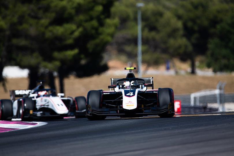 F2: De Vries az új éllovas, Schumachert saját csapattársa kaszálta el a Paul Ricard-on