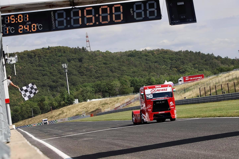 Győzelemmel kezdett Kiss Norbert a kamion-Eb-n