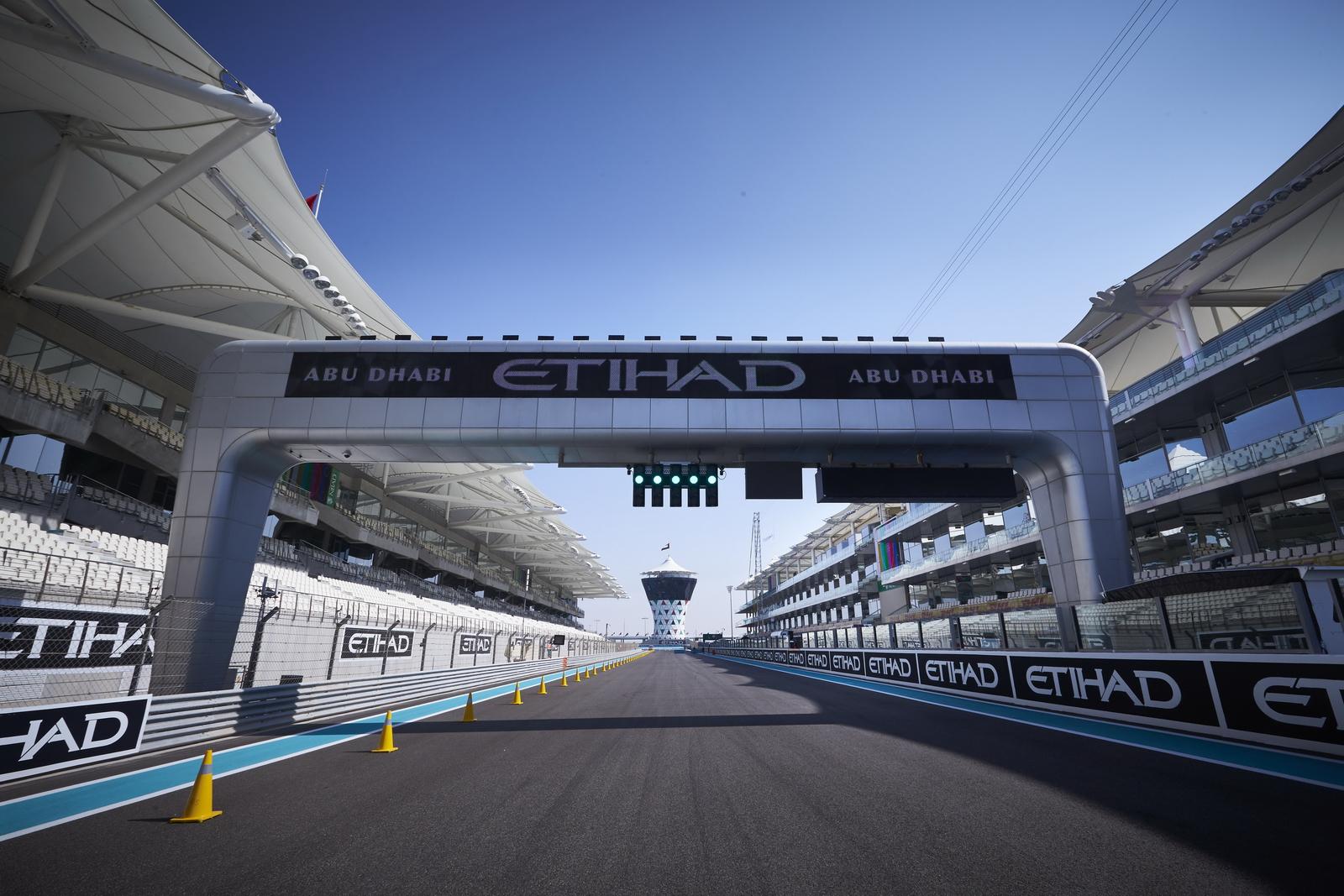 F1 - 2016 ABU DHABI NAGYDÍJ: A RAJTRÁCS