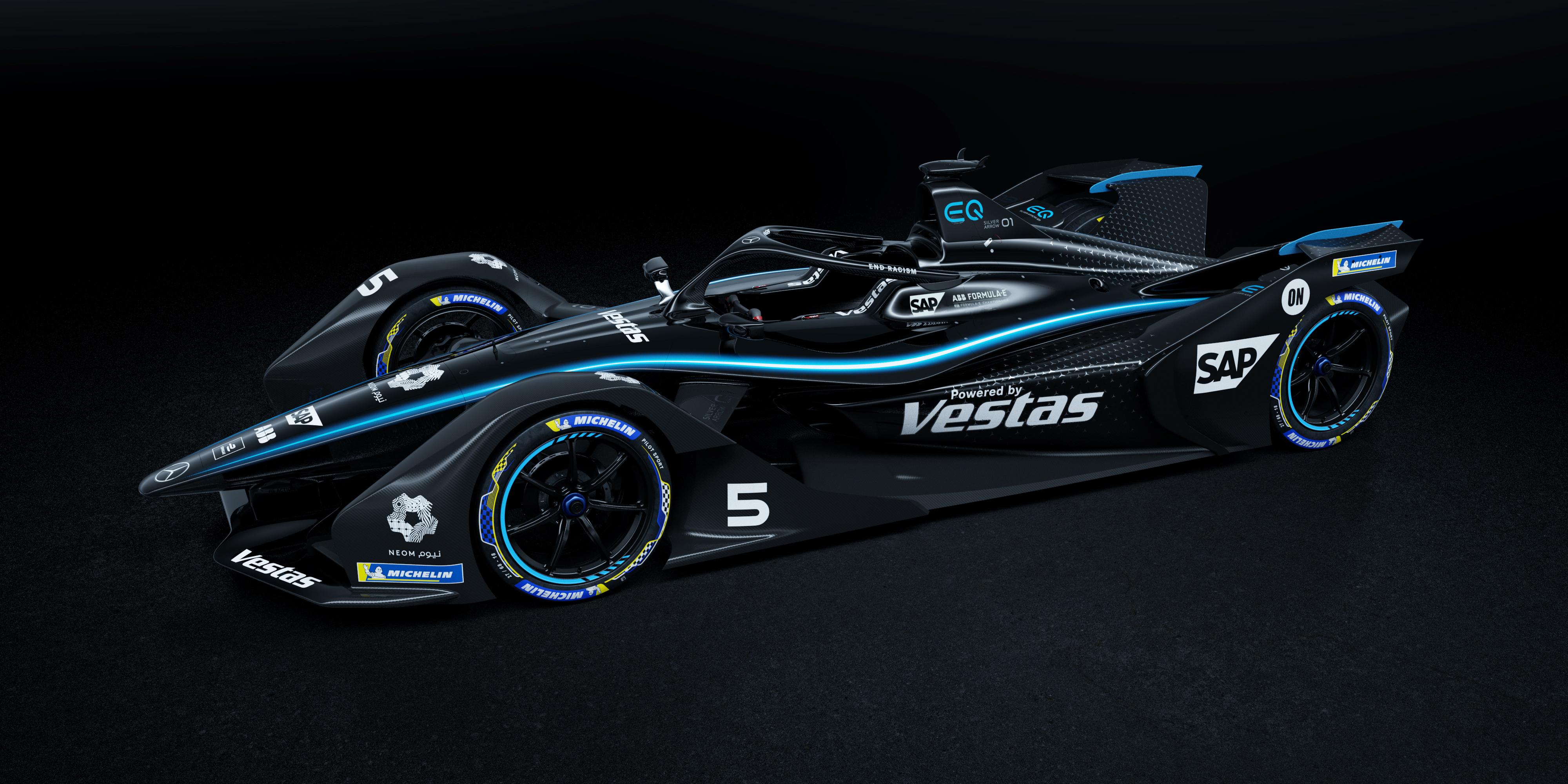 A Formula–E-ben is átfestik a Mercedest