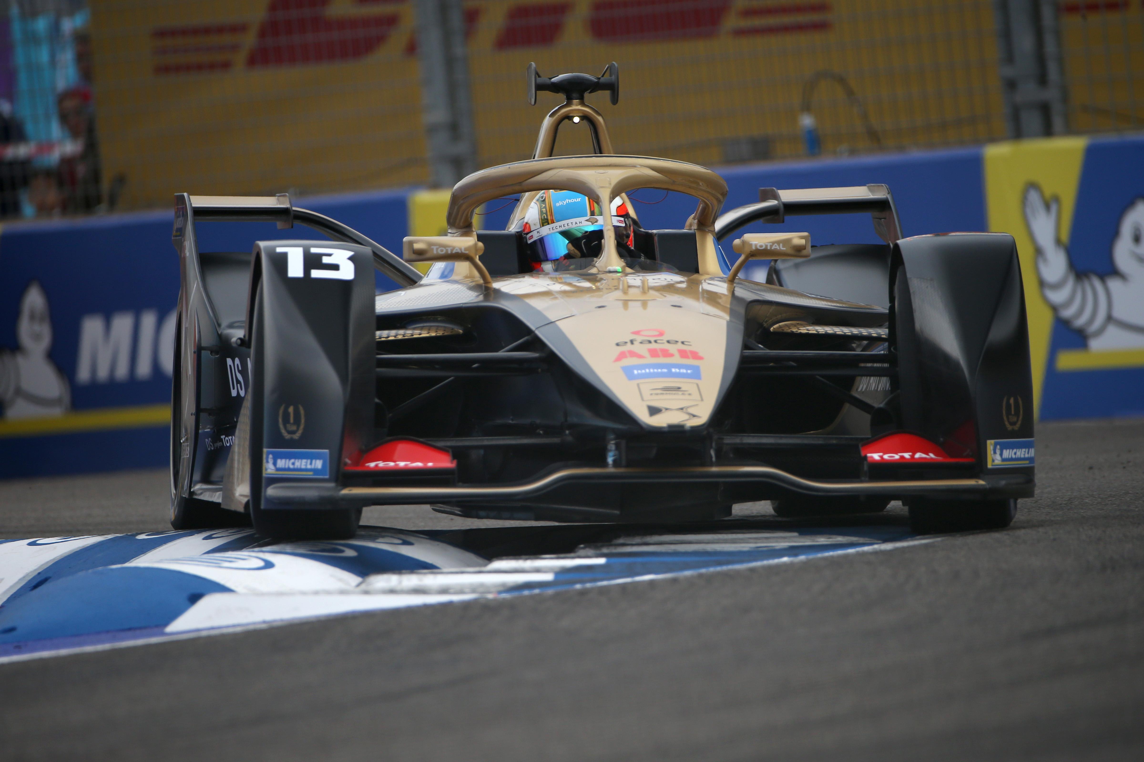 Formula–E: Da Costa a pole-ban, Evans a sor végén