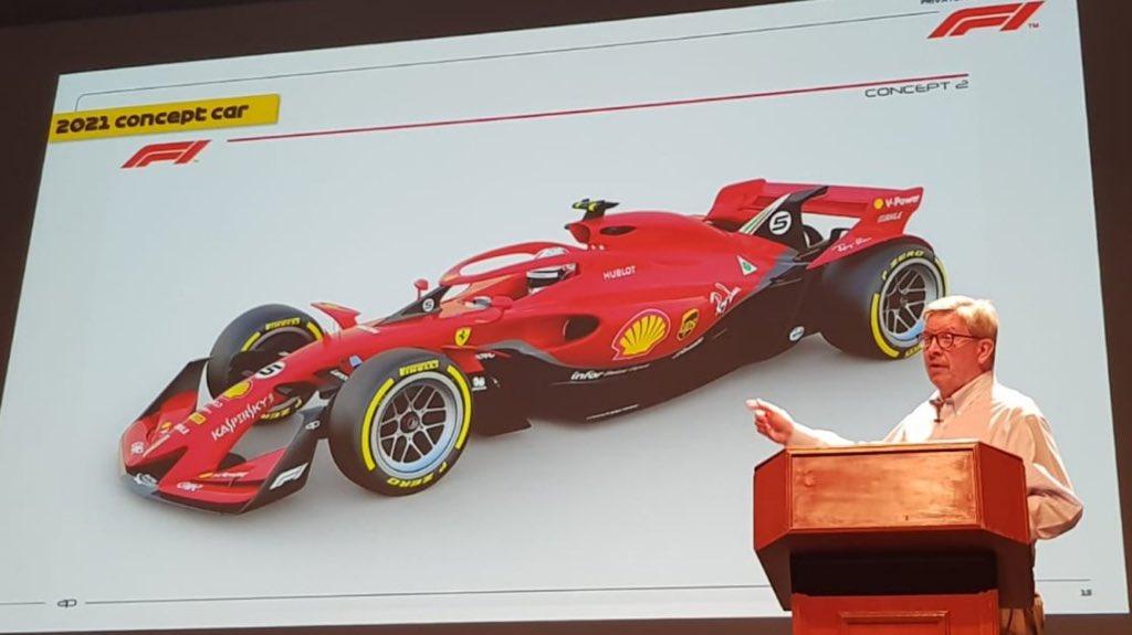 F1 - 2021-TŐL FUTURISZTIKUSSÁ VÁLHAT A FORMA-1