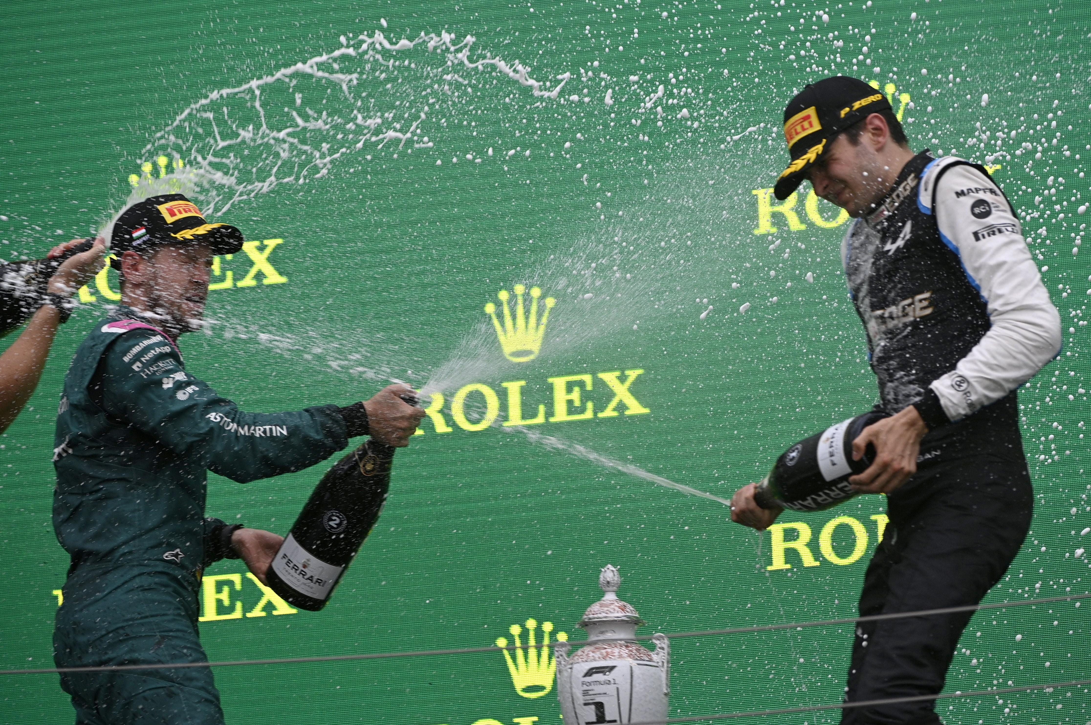 F1: Ocon az új sztár, Verstappen fél autóval harcolt