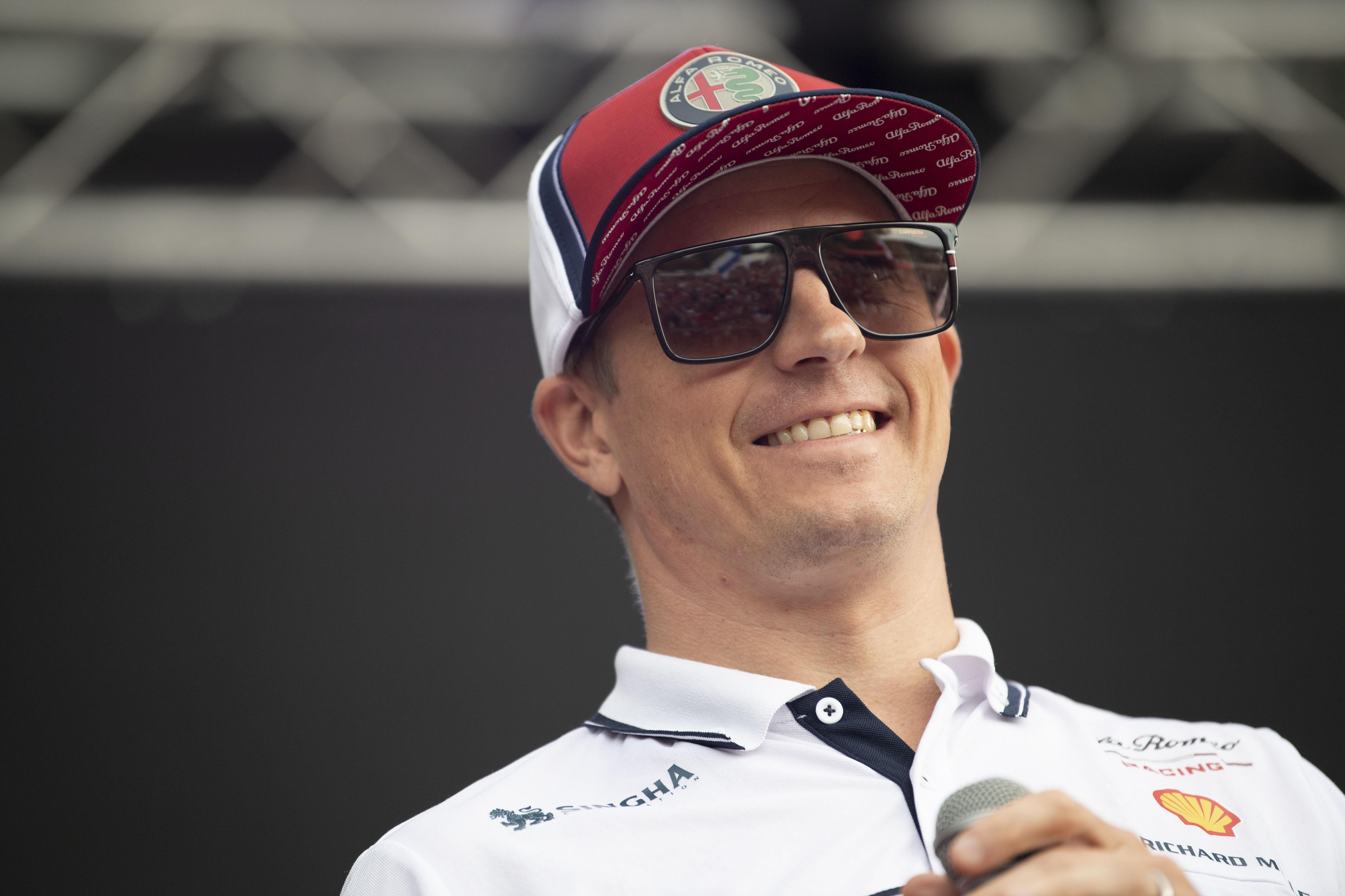 Räikkönen egyedül is boldogul