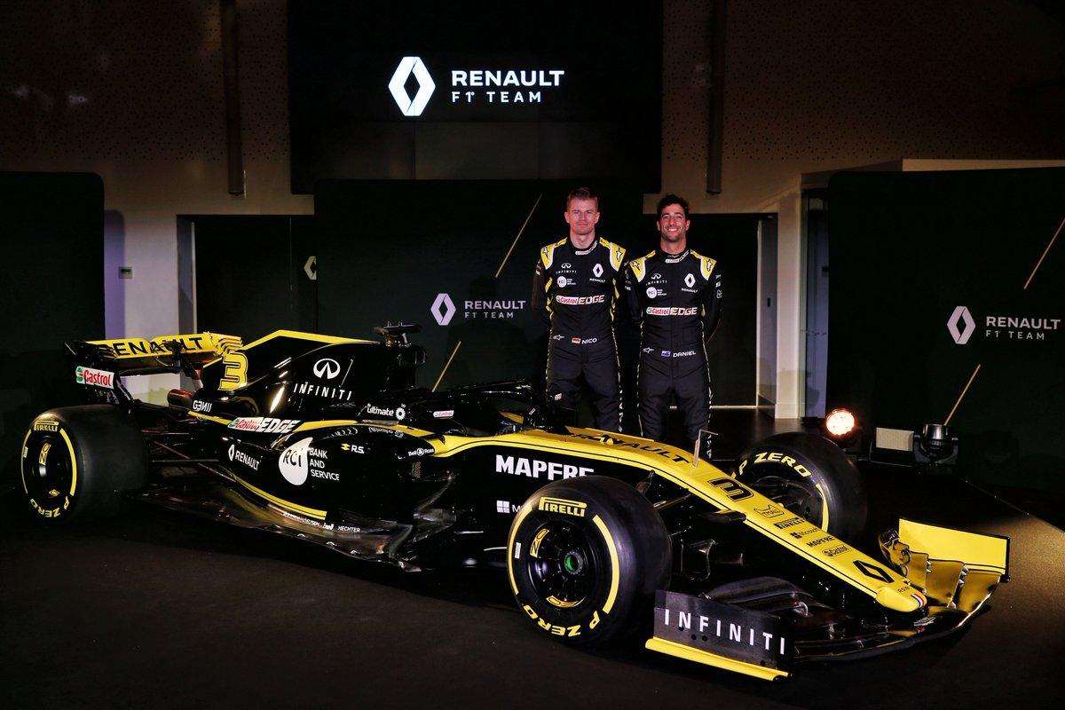 F1 - MEGÉRKEZETT A NEGYEDIK 2019-ES AUTÓ: ÍME, A RENAULT R.S.19!