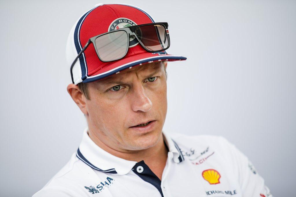 """F1: """"Talán a piálás biztonságosabb"""" – sérüléséről nyilatkozott Räikkönen"""