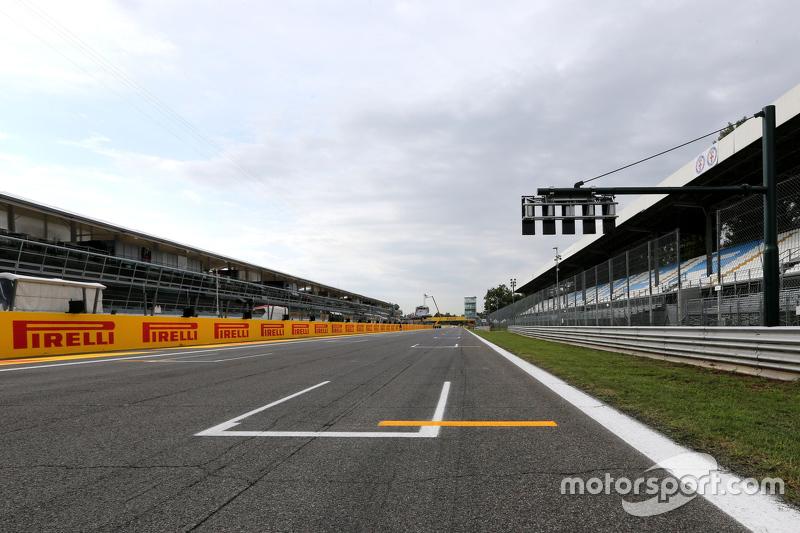 F1 - 2015 OLASZ NAGYDÍJ: A RAJTRÁCS