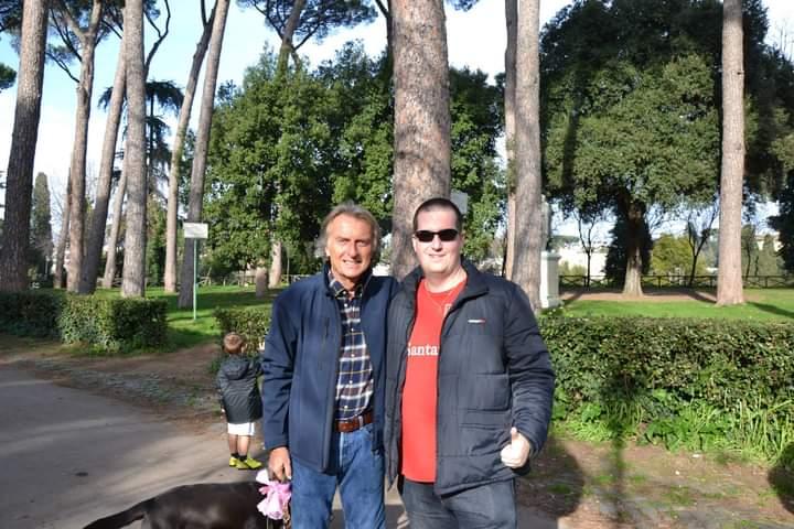 Véletlen találkozások Schumacherrel és Luca di Montezemolóval