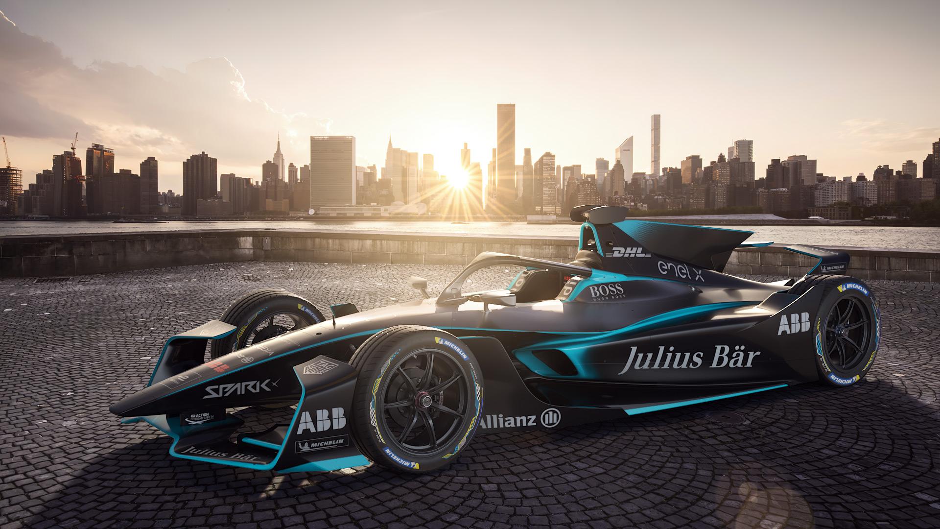 Ráncfelvarráson esett át a Formula–E versenygépe