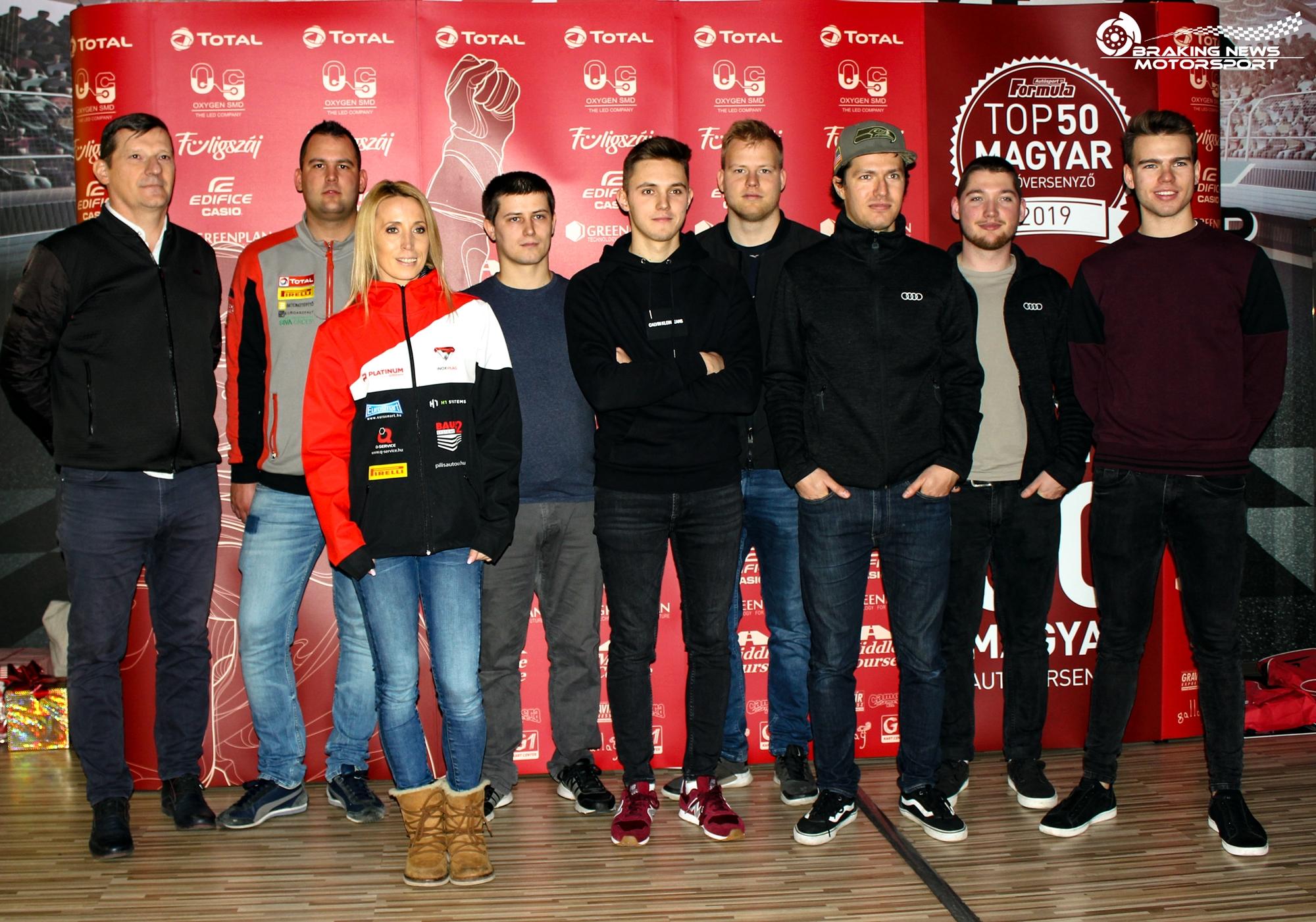 Gokartozással hangoltak a TOP50 gálára a magyar versenyzők