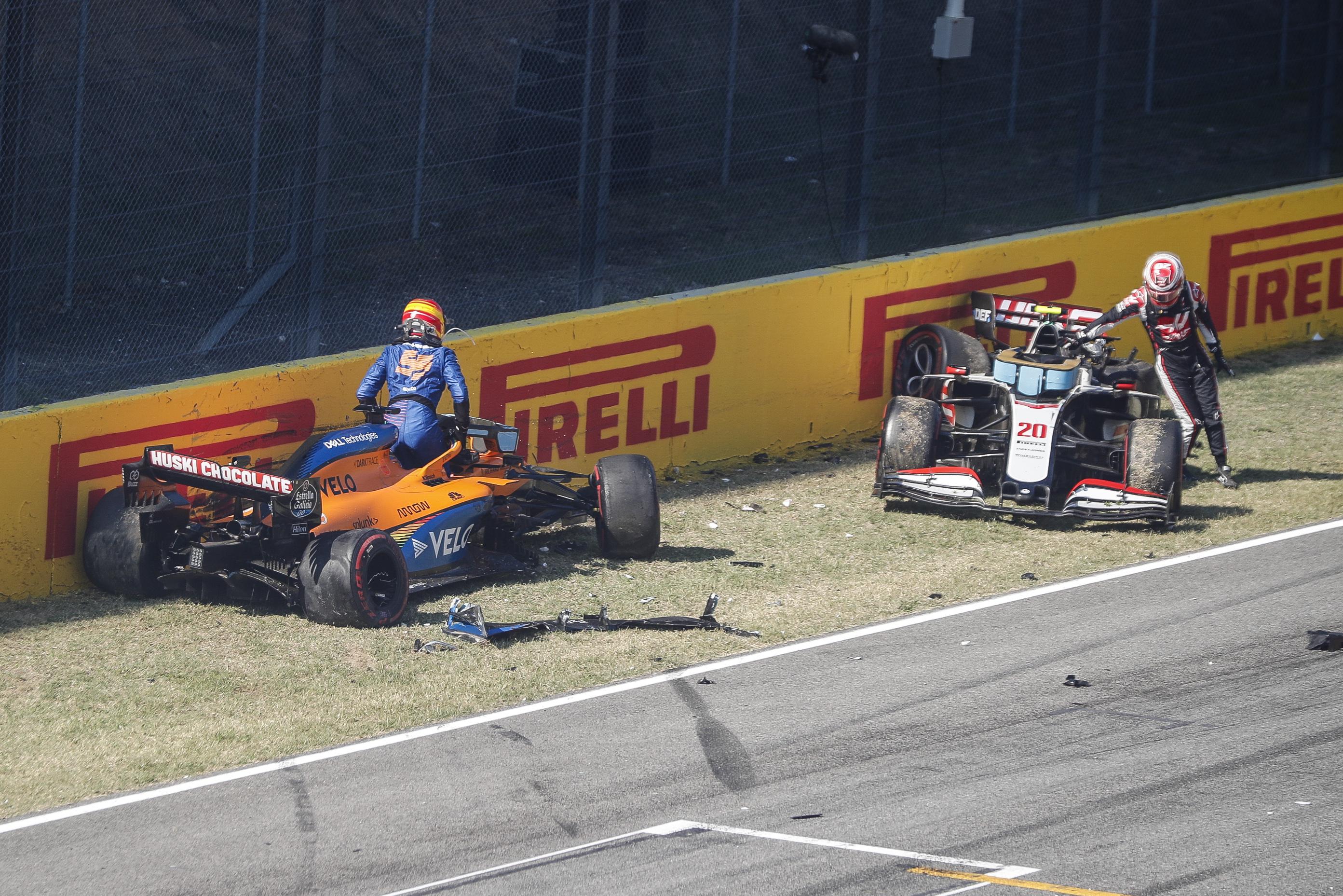 F1: Aggódnak a versenyzők a mugellói roncsderbi után