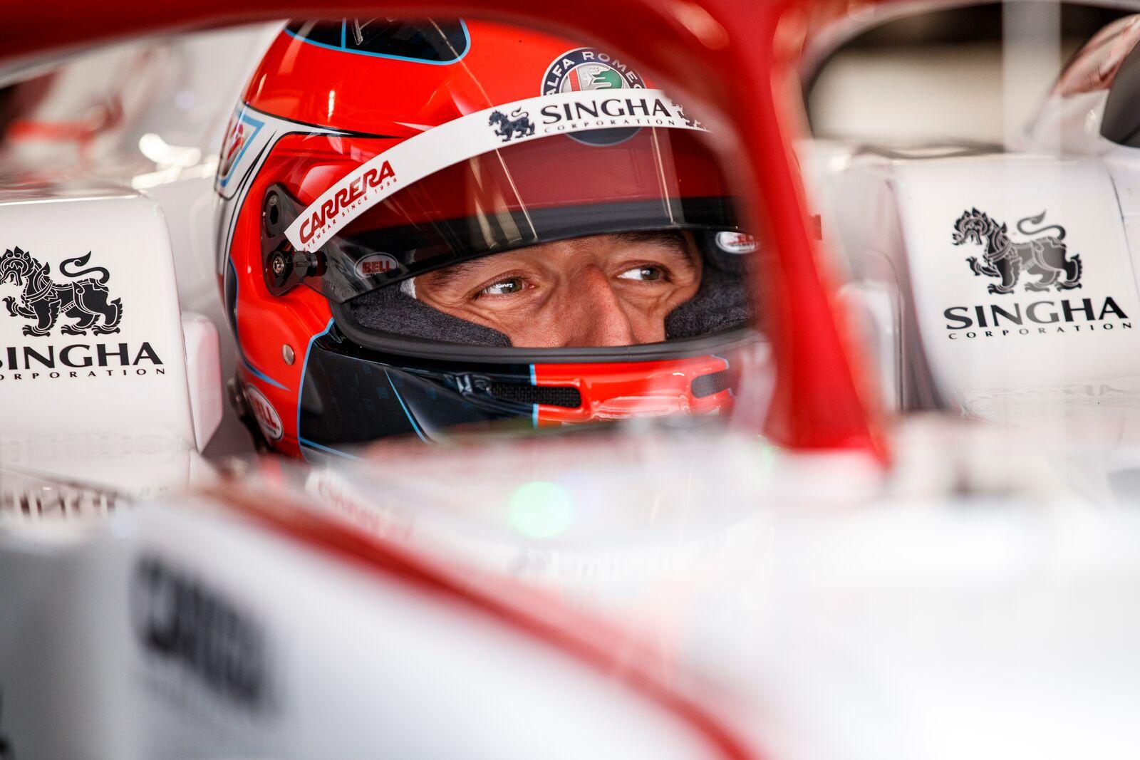 Robert Kubica vezethette elsőként az Alfa Romeo 2021-es autóját.<br /><br />Fotó:Xavi Bonilla / DPPI (Alfa Romeo Racing Media)