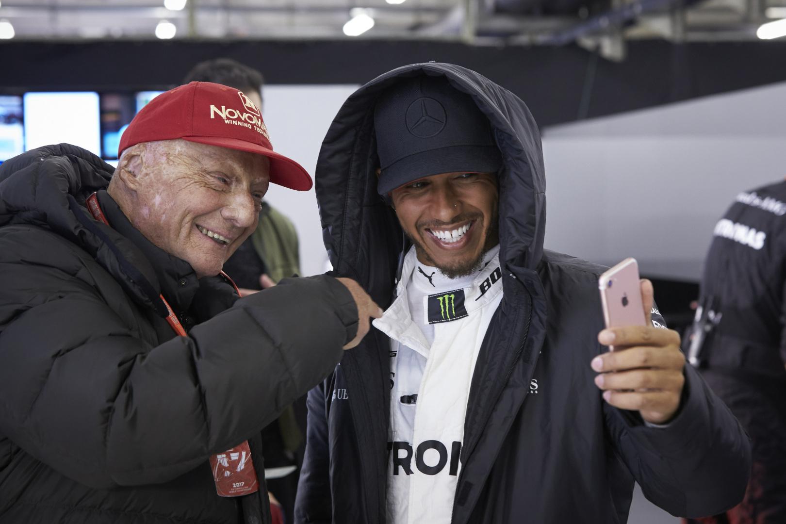 Hamilton: Lauda nélkül nem lennék a Mercedesnél
