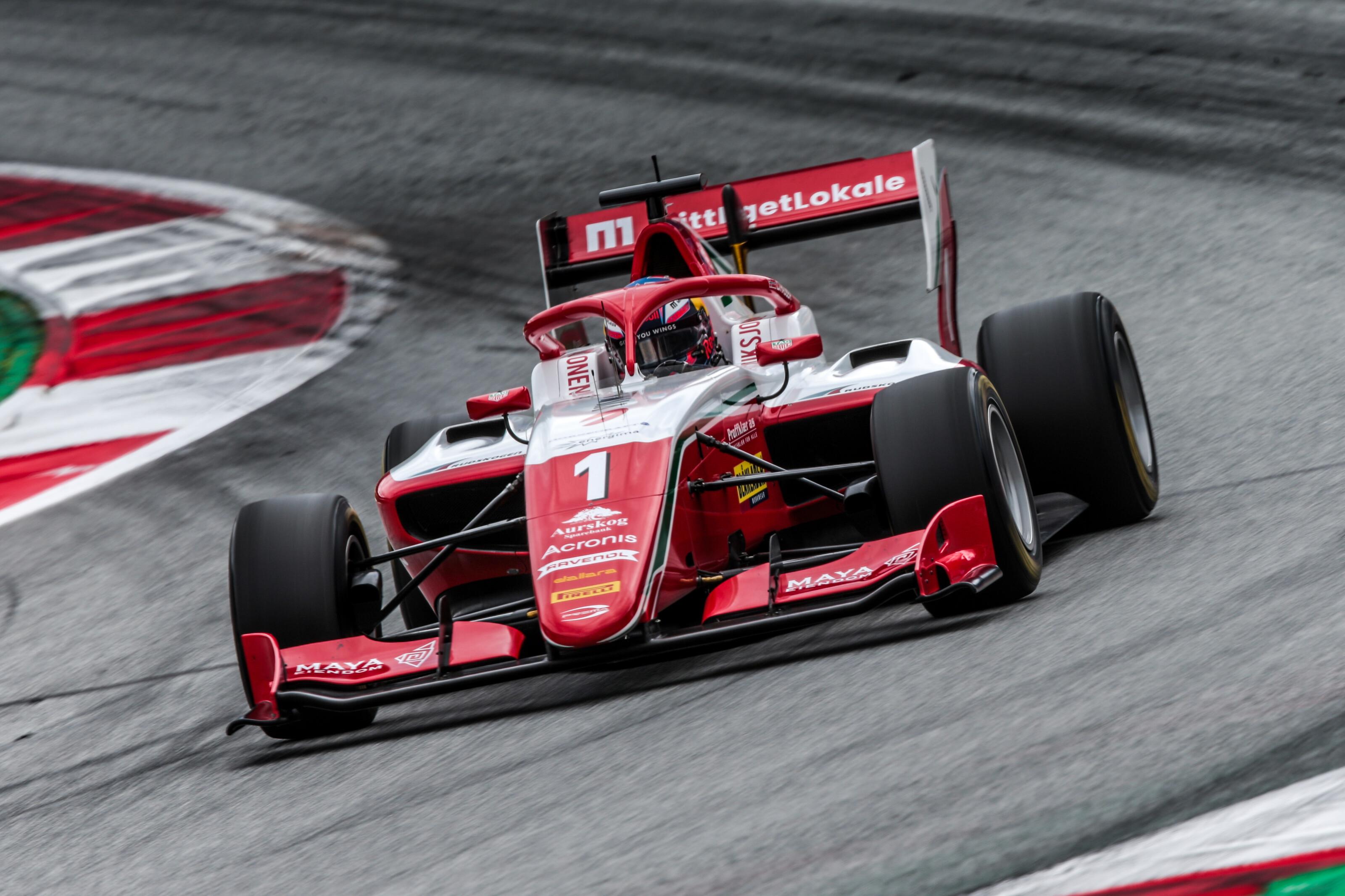 Sargeant nyerte az első futamot, Hauger az F3 bajnoka