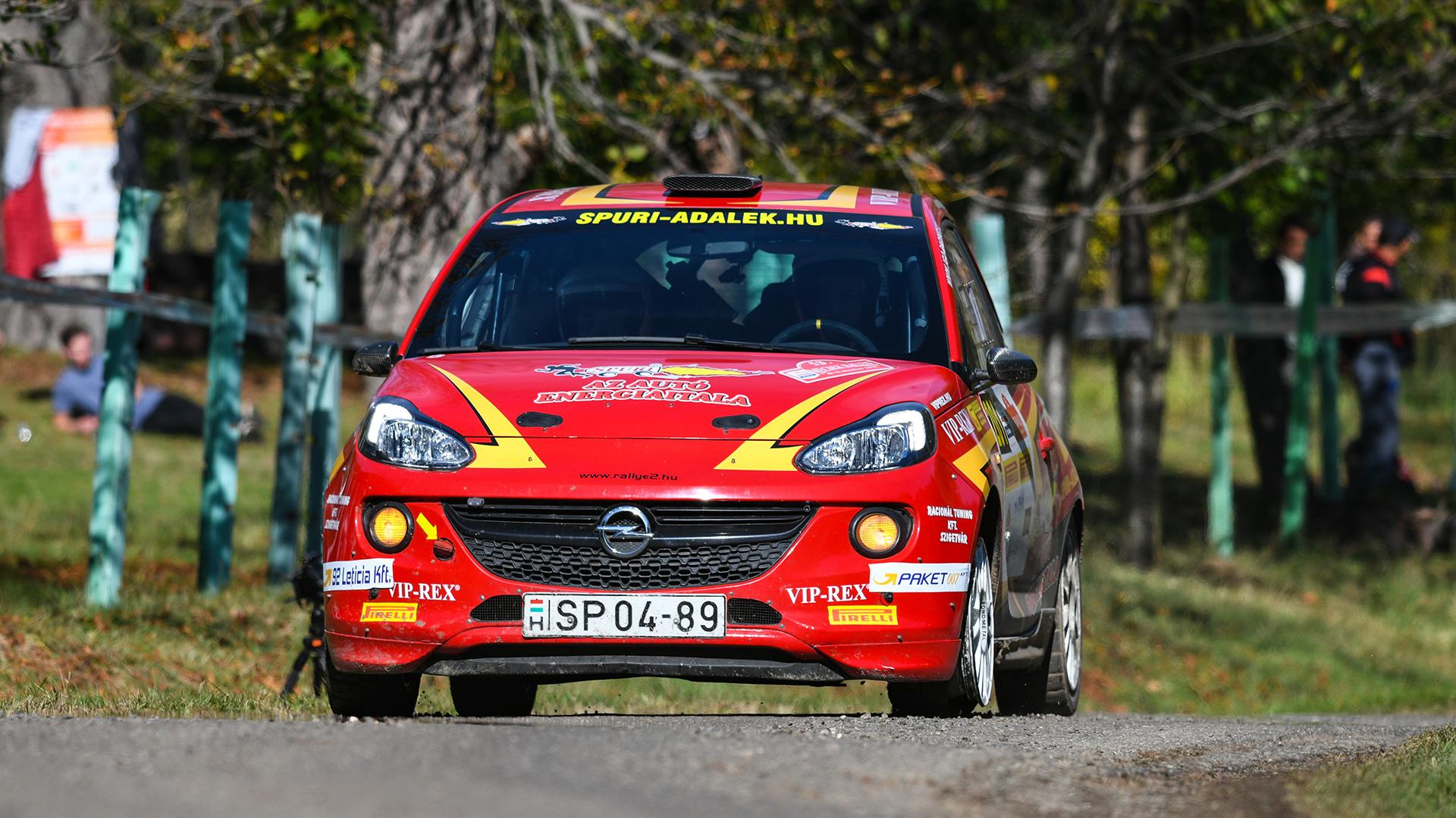 Tim Gábor a Rallye2 második helyén zárta az évet
