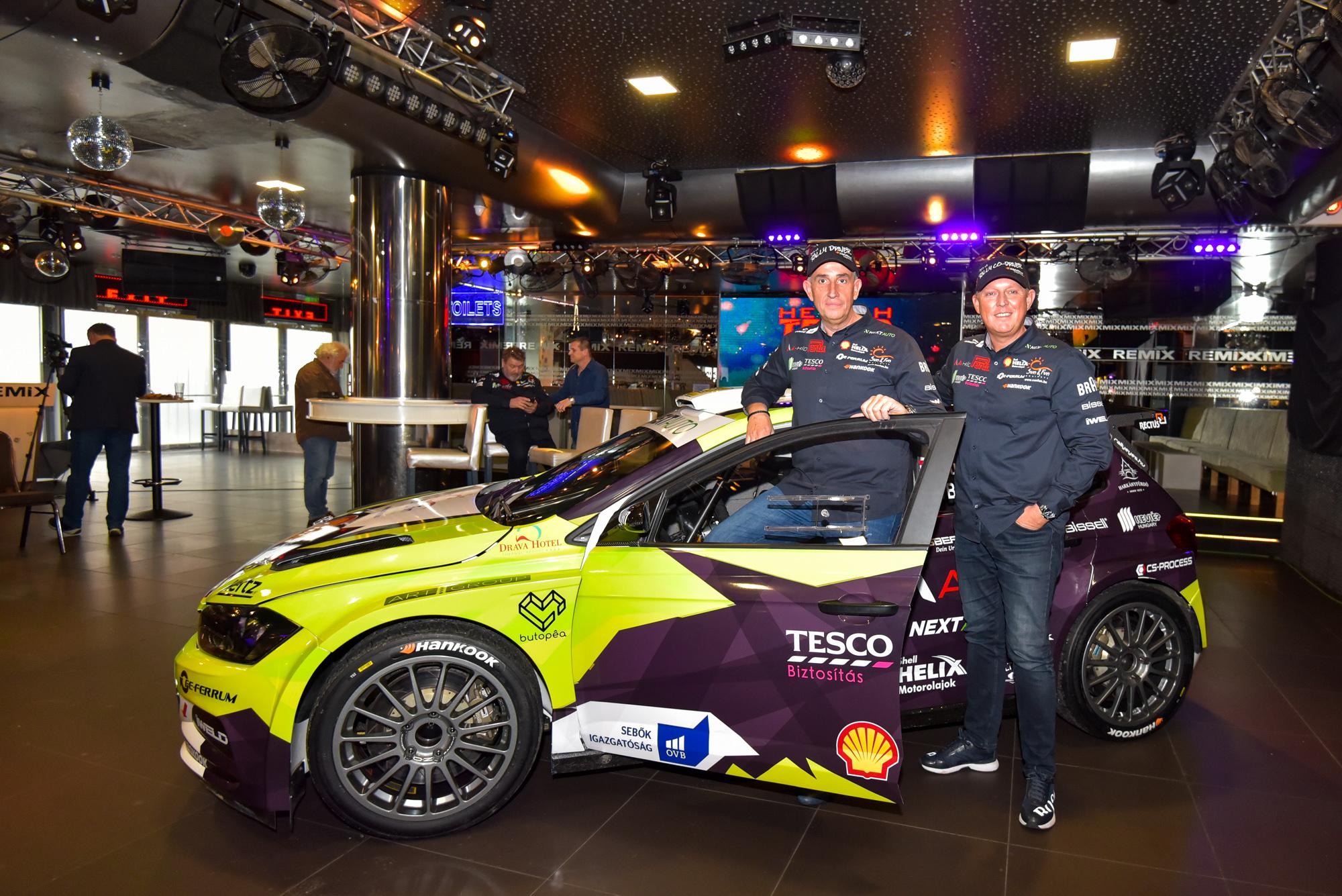 Rali: Új autóval vág neki 2020-nak az ERC-futamgyőztes magyar páros