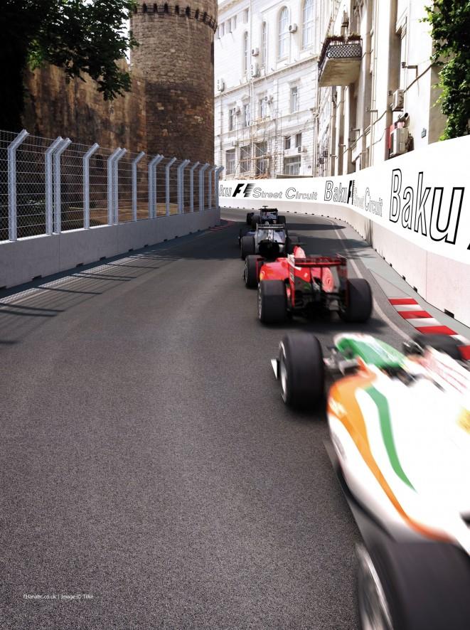 F1 - MÁR CSAK AZ FIA JÓVÁHAGYÁSA KELL BAKUBAN