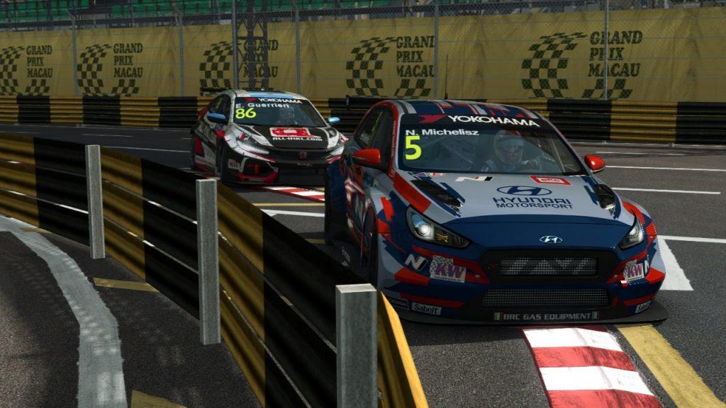 WTCR: A M1RA versenyzője toronymagasan vezeti a virtuális bajnokságot