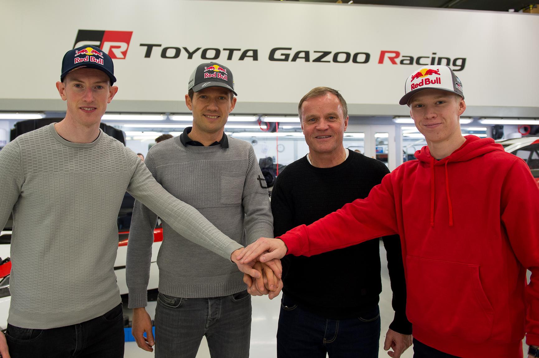 WRC: Eldőlt Ogier jövője, teljes vérfrissítés a Toyotánál