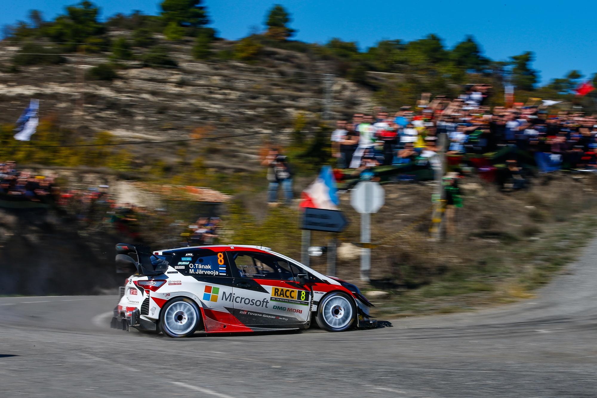 Észt bajnokot avattak a WRC-ben